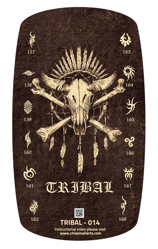 Chisel Nail Arts - 3D Nail Stamping - Christmas Collection