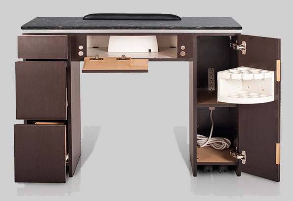 Voltron Manicure Table with HiPower LED Light -> Table Salon Led
