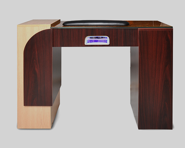 Ion Manicure Table with Hi-Power LED Light