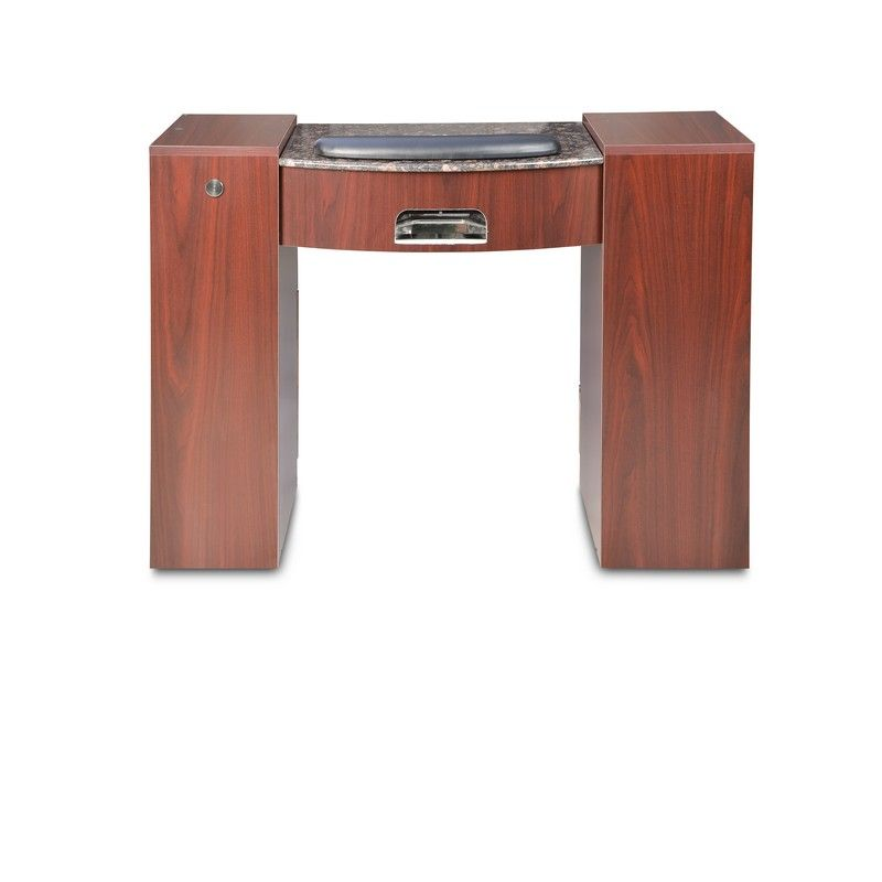 Centrifuge dustless manicure table for Nail table with vent