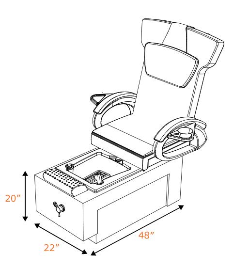 ANS Ion I Pedicure Spa