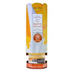 Cuccio Hydrating Butter Blends Towers Milk & Honey 6ct
