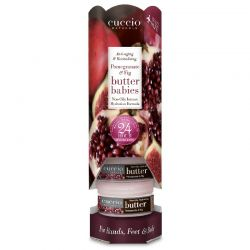 Cuccio Butter Babies Towers Pomegranate & Fig 6ct