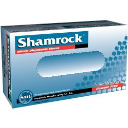 Shamrock - Nitrile Blue Gloves - Small (100ct)