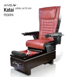 ANS Katai I Caffelle Red Square Sink with Ans 16 Massage Chair