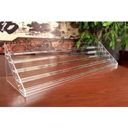 Nail Polish Organizer Display Acrylic Step Rack (120 Bottles)