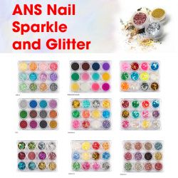 ANS Nail Sparkle and Glitter