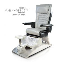 Argento Pedicure Spa Chair Stainless Steel