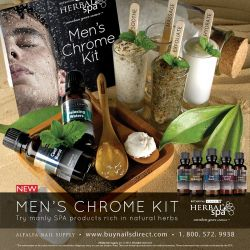 Men's Chrome Kit - Botanical Escapes Herbal Spa Pedicure