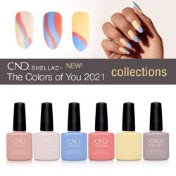 CND Shellac-The Colors of You 2021 Collection
