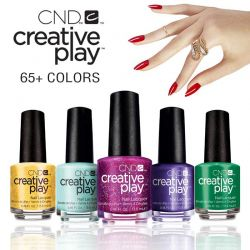 CND Creative Play Polish  - All color collections