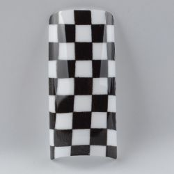 Tip Beyond Design YD4-LV139 (70pc/bx) Damier black & white