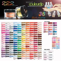 Beyond Couleurdip 2-in-1 Acrylic Dipping Powder Kit - All color collections