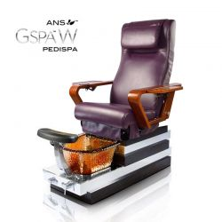 Gspa W  Pedicure Spa Glass Sink w/ installation