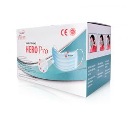 Hero Pro Face Mask - Blue - 50 ct