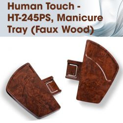 Human Touch - HT-245PS, Manicure Tray (Faux Wood)