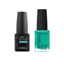 Kinetics - Shiled Gel and SolarGel Polish Duo Never too late 276