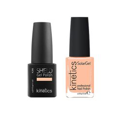 Kinetics - Shiled Gel and SolarGel Polish Duo Be my penguin 296