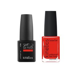 Kinetics - Shiled Gel and SolarGel Polish Duo Frozen Kiss 293