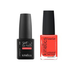 Kinetics - Shiled Gel and SolarGel Polish Duo Spritz Apperol 307