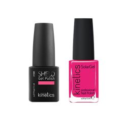 Kinetics - Shiled Gel and SolarGel Polish Duo Raspberry Mojito 308