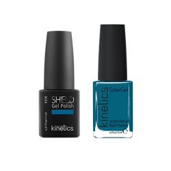 Kinetics - Shiled Gel and SolarGel Polish Duo Clear Blue Sky 310