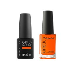 Knetics - Shield Polish and SolarGel Duo Escape 371