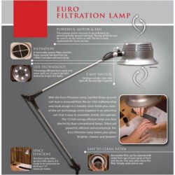 Euro LED Manicure Table Lamp w/Filtration