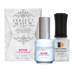 LeChat - Perfect Match - Matte Top Sealer Set 0.5oz (USA)