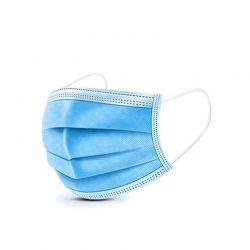 Protective Disposable Face Mask - Blue - 40/bx