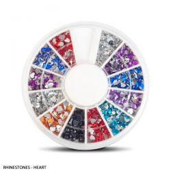 ANS Rhinestones Heart 576pcs/Wheel