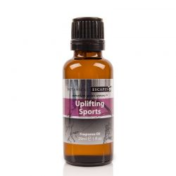 Botanical Escapes Herbal Spa Pedicure - Men's Collection - Uplifting Sports Fragrance Oil 1oz