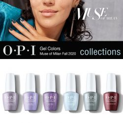 OPI Gel Colors Muse of Milan Fall 2020 Collection