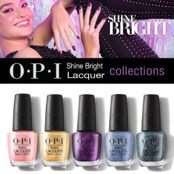 OPI Shine Bright Lacquer Collection