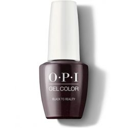 OPI Gel #GCK12 - Black to Reality