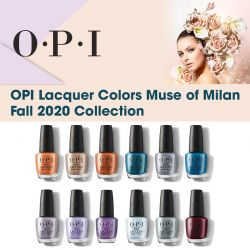OPI Lacquer Colors Muse of Milan Fall 2020 Collection
