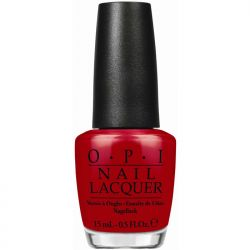 OPI Lac #A70 - Red Hot Rio