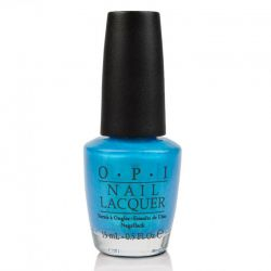 OPI Lac #B54 - Teal the Cows Come Home