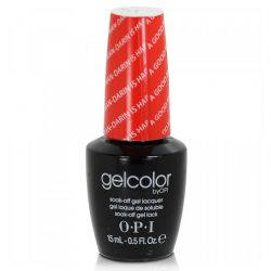 OPI Gel Color - A Good Man-Darin Is Hard To Find