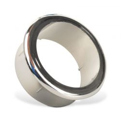 Polish Chrome Grommet for Manicure Tables