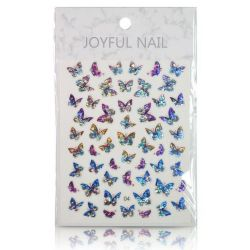 Holographic Laser Butterfly Stickers