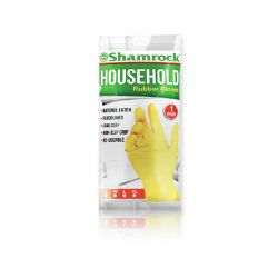 Shamrock - Household Latex Gloves - Medium (1 pair)