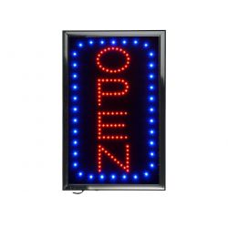 "Vertical LED Open Sign (15"" x 23.6"")"
