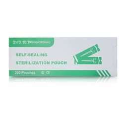 "Sterilization Pouches 3.5""x10"" (200pc)"