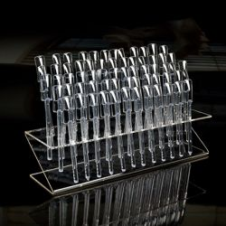 Nail Art Display Holder Z-Shape, include 64 sticks