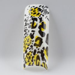 Tip Beyond Design YD2-15 (70pc/bx)Leopard black & white