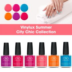 CND Vinylux Summer City Chic Collection