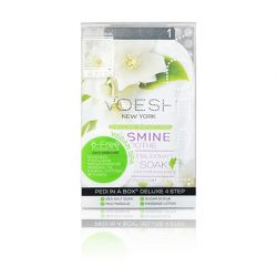 Voesh Deluxe Pedicure - 4 Step Spa Treatment - Jasmine Soothe