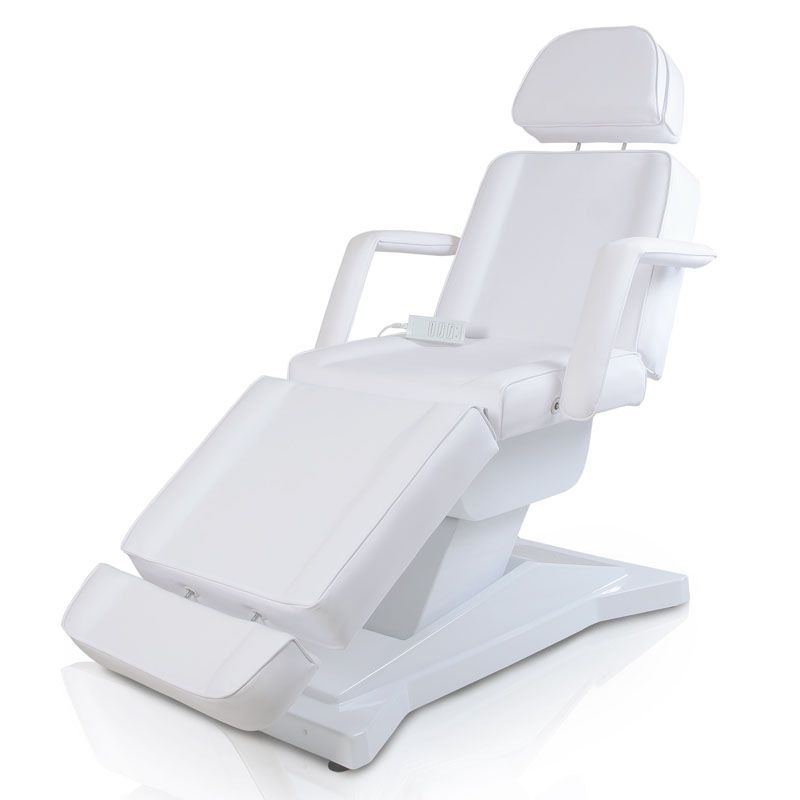 Swell Facial Beauty Chair With 3 Motors Color White With Stool Ibusinesslaw Wood Chair Design Ideas Ibusinesslaworg