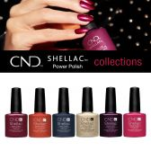 CND Shellac Power Polish - All color collections